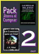 Pack Ahorra al Comprar 2 - 007: Las reglas del juego: Una aventura de aceitunas asesinas & Un Comienzo para un Final