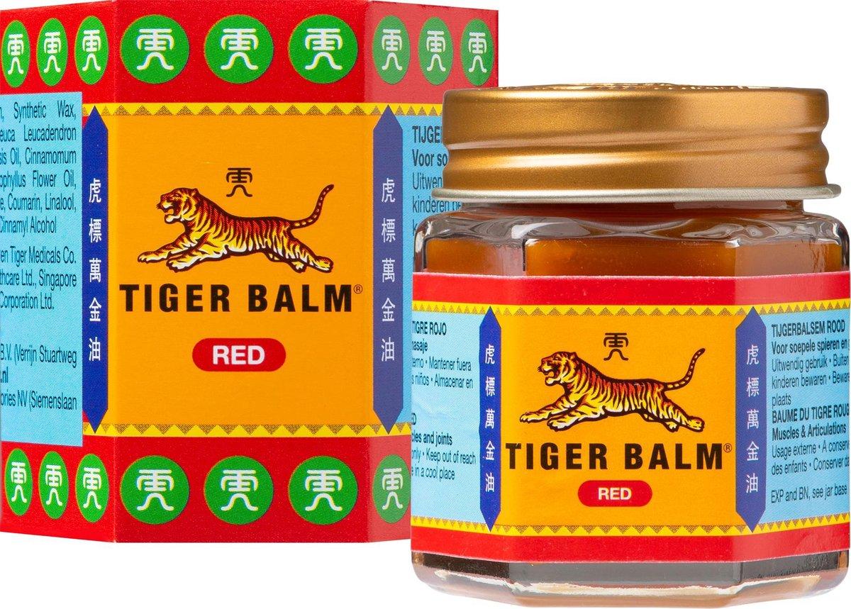 Tiger Balm Tijgerbalsem Rood sterk - 30gr