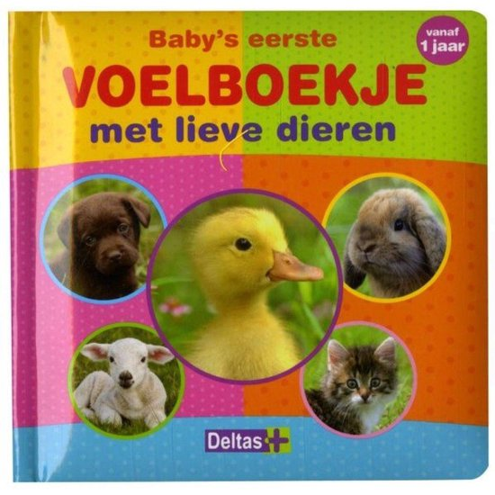 Baby's eerste voelboekje met lieve dieren - ZNU |