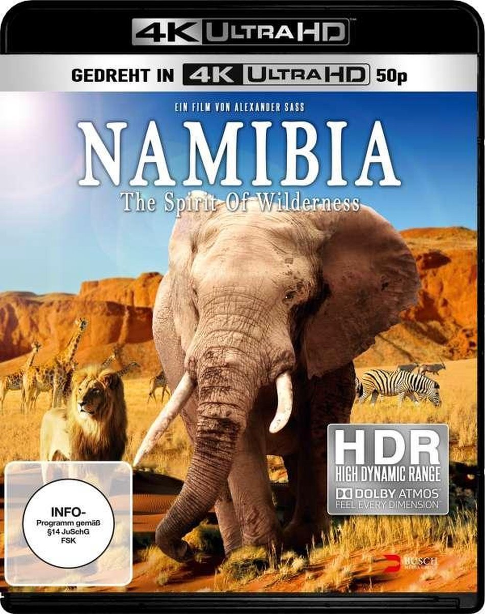 Namibia - Spirit of Wilderness (4K UHD)/Blu-ray-