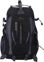 Compacte Wandelrugzak/Wandeltas Backpack voor Dames en Heren - Alternatief North Face - Lovnix TanXian Bag106 | Zwart