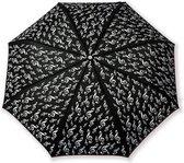 Paraplu Zwart Opvouwbaar G-Sleutel