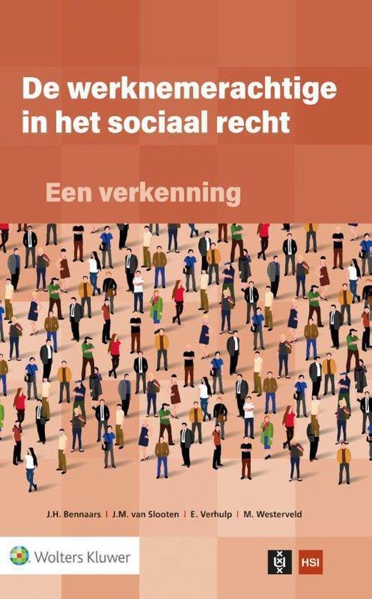 De werknemerachtige in het sociaal recht: een verkenning - Wolters Kluwer Nederland B.V.  