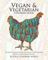 Vegan & Vegetarian Coloring Book