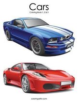 Cars Coloring Book 1, 2 & 3