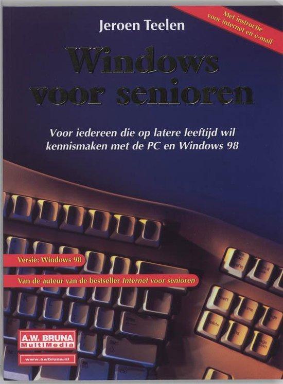 Cover van het boek 'Windows voor senioren / Windows 98'