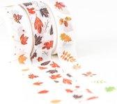 Set van 3 verschillende rollen Japanse Washi Tapes Autumn Leafs   Masking Tape