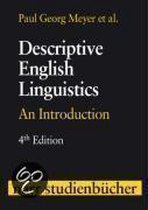 Descriptive English Linguistics