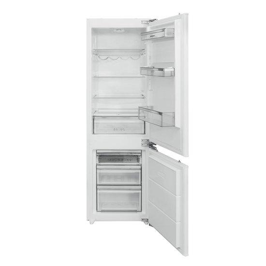 Inbouw koelkast: Sharp SJB1243M00XEU inbouw koel- vriescombinatie 177cm, van het merk Sharp
