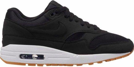 Nike Air Max 1 - Sneakers - Zwart/Wit/Gum - Maat 38.5