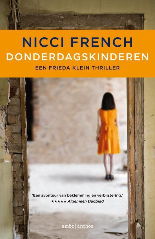 Omslag van Frieda Klein 4 - Donderdagskinderen