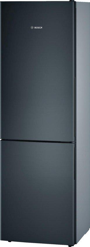 Koelkast: Bosch KGV36VB32S - Serie 4 - Koel- en vriescombinatie - Zwarte deur, van het merk Bosch