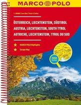 Oostenrijk, Liechtenstein, Zuid-Tirol Wegenatlas Marco Polo