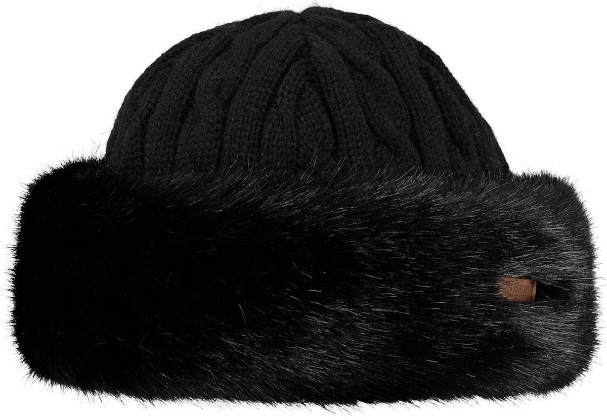 Barts Fur Cable Bandhat Hoed Dames - One Size - Barts