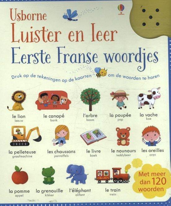 Luister en leer - Eerste Franse woordjes - none |