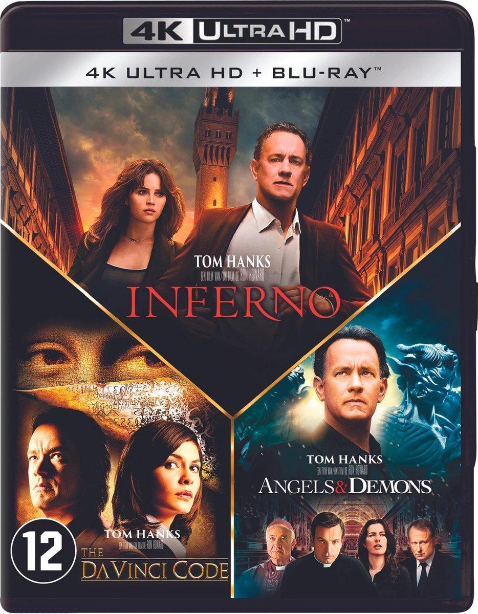 Inferno - Angels & Demons - The Da Vinci Code (4K Ultra HD Blu-ray)-