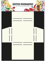 Dutch Doobadoo Dutch Box Art stencil Merci A4