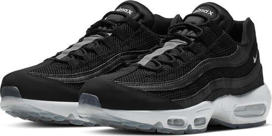 Nike Air Max 95 Essential Sneakers - Maat 42.5 - Mannen - zwart/wit