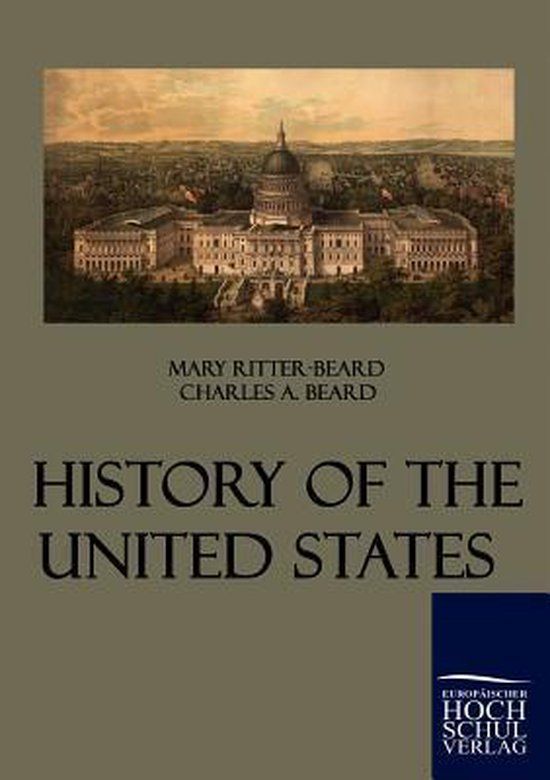 Boek cover History of the United States van Mary Ritter-Beard (Paperback)