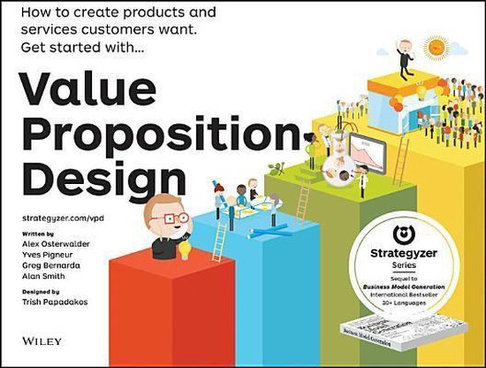 Boek cover Value Proposition Design van Osterwalder a (Paperback)