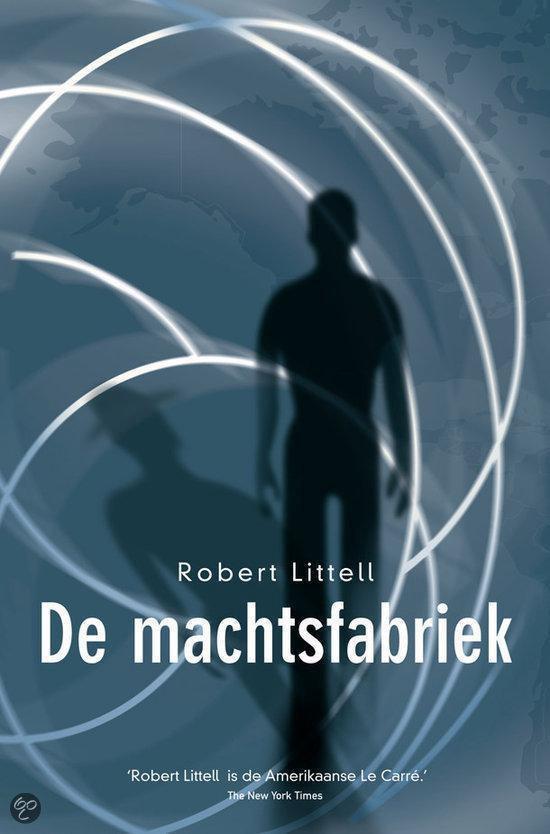 Cover van het boek 'De machtsfabriek' van Robert Littell