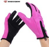 Waterafstotend & Windproof Thermische Touchscreen Handschoenen -Dames - Roze - Maat M