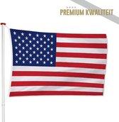 Amerikaanse Vlag Amerika - USA Vlag 100x150cm