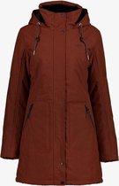Kjelvik dames outdoor jas waterafstotend - Bruin - Maat XL - Winddicht - Ademend materiaal