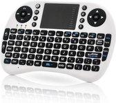 Rii Mini Wireless Keyboard i8 RF Draadloos QWERTY Engels Zwart toetsenbord