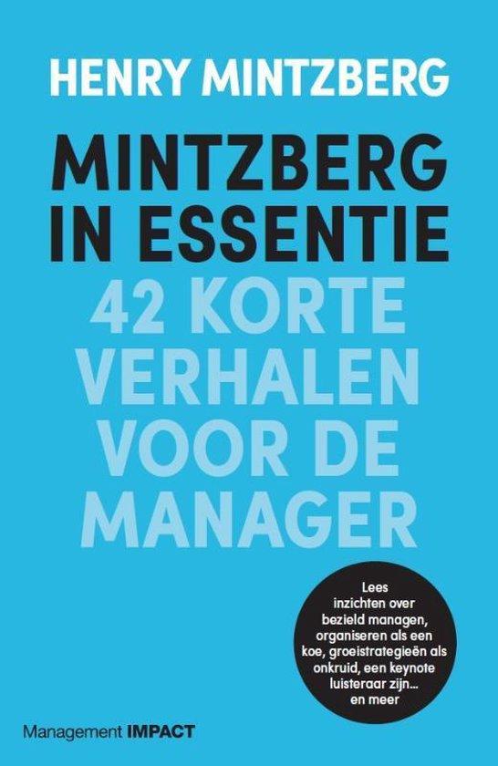 Mintzberg in essentie - Henry Mintzberg | Fthsonline.com