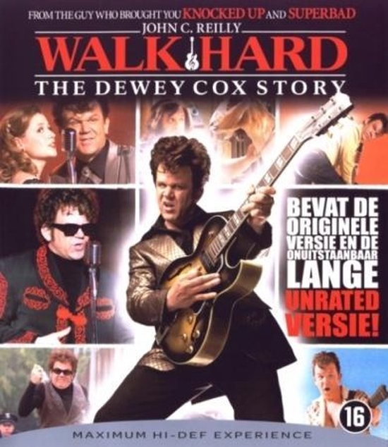Cover van de film 'Walk Hard - The Dewey Cox Story'