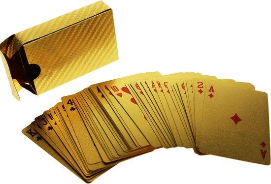 Afbeelding van het spel United Entertainment - Speelkaarten - Goud