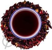Hibiscus thee biologisch (hibiscusbloesem) 100 g