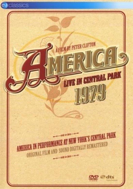 Cover van de film 'America - Live In Central Park'