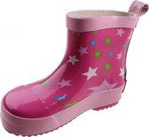 Playshoes Regenlaarzen Kinderen Sterren - Roze - Maat 22