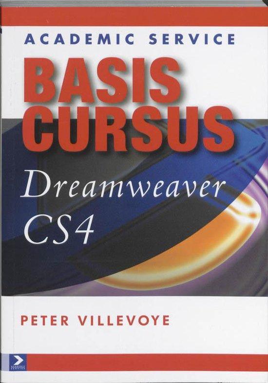 Cover van het boek 'Basiscursus Dreamweaver CS4'