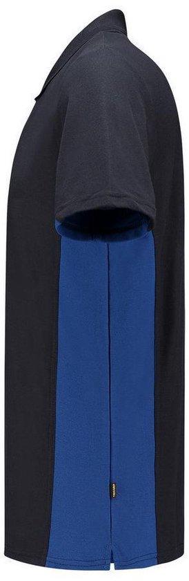 Tricorp Poloshirt Bi-color - 202004 Navy / Koningsblauw Maat Xxl