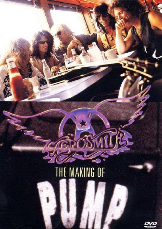 Cover van de film 'Aerosmith - Making of Pump'