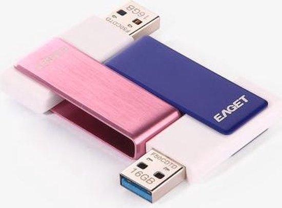 EAGET F50 USB 3.0 Flash Drive - 32GB/Rose - EAGET
