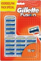 Gillette Fusion Manual - 16 stuks - Scheermesjes
