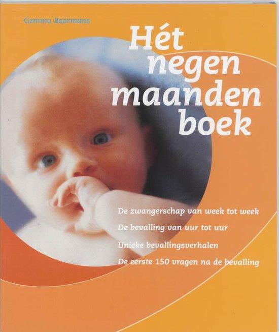 Het Negen Maanden Boek - Boormans pdf epub