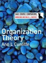 Boek cover Organization Theory van Ann L Cunliffe (Paperback)