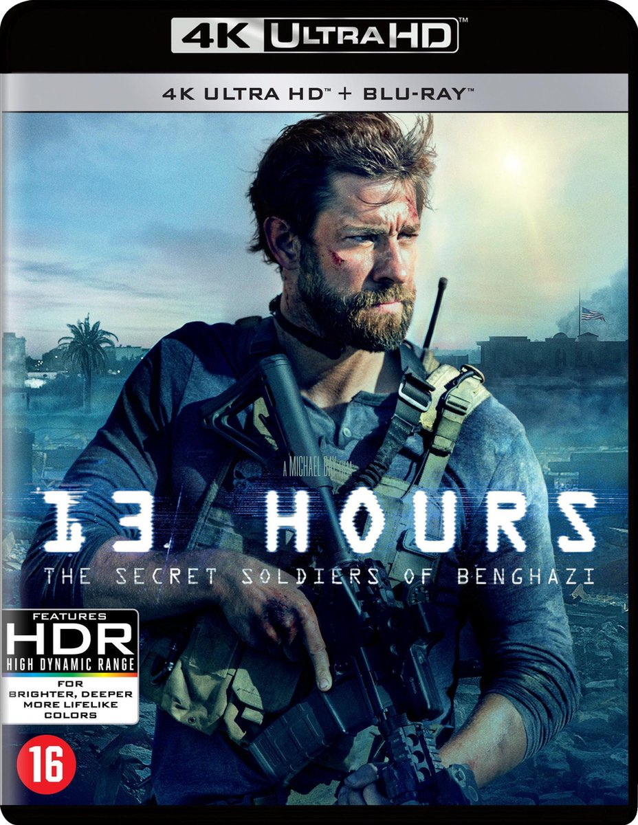 13 Hours - The Secret Soldiers Of Benghazi (4K Ultra HD Blu-ray)-