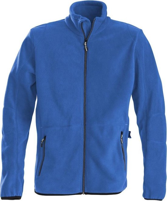 Printer Speedway fleece jacket Ocean blue L
