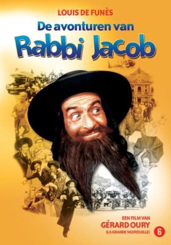Cover van de film 'De avonturen van Rabbi Jacob'
