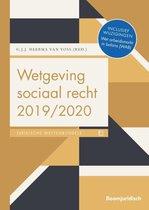 Boek cover Boom Juridische wettenbundels  -  Wetgeving sociaal recht 2019/2020 van  (Paperback)