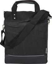 Basil Urban Fold Cross Body Bag Enkele Fietstas - 25 liter - Zwart