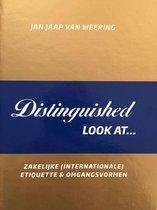 Boek cover Distinguished look at van Weering, Jan Jaap van