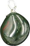 Edelsteen Hanger Heliotroop Groen