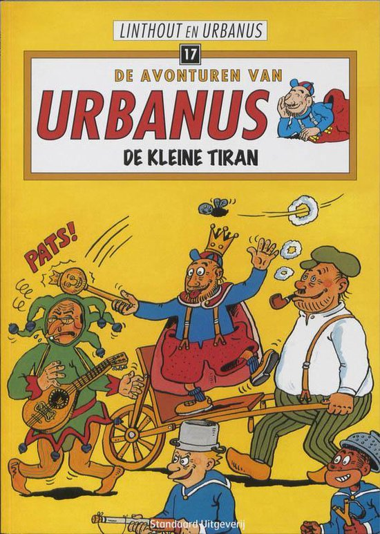 Urbanus 17 De kleine tiran - Willy Linthout  